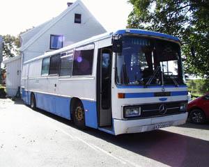 SAKMIL-bussen, front høyre
