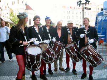Gruppebilde i Praha (2002)